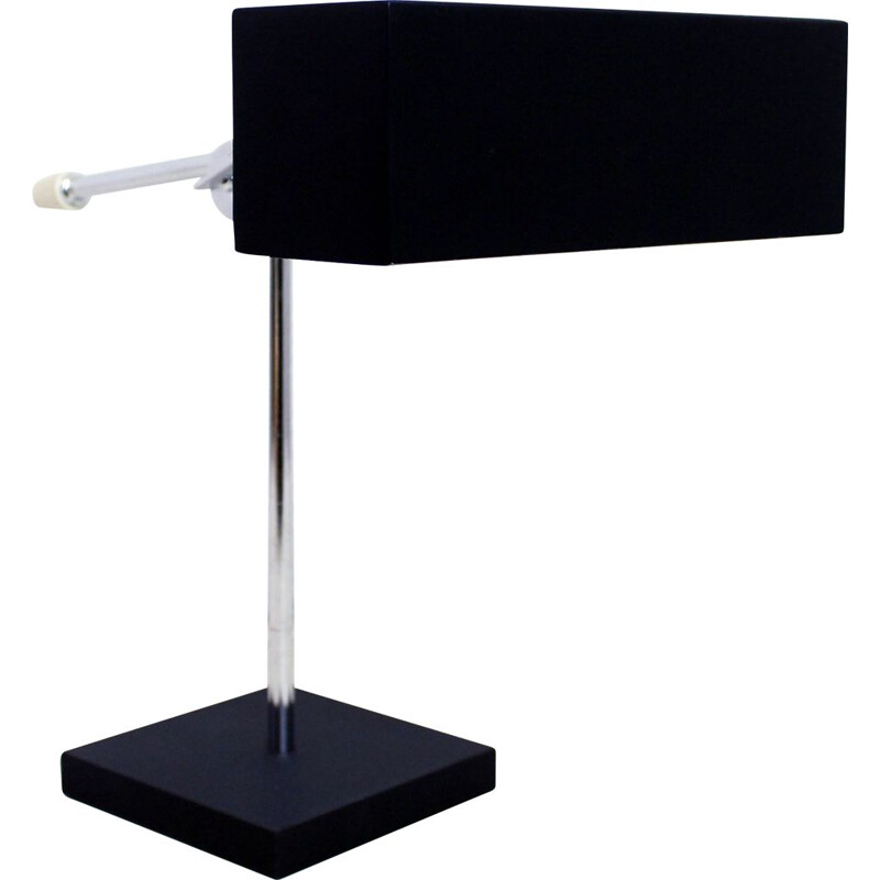 Vintage modernist desk lamp by Leclaire and Schäfer 1950