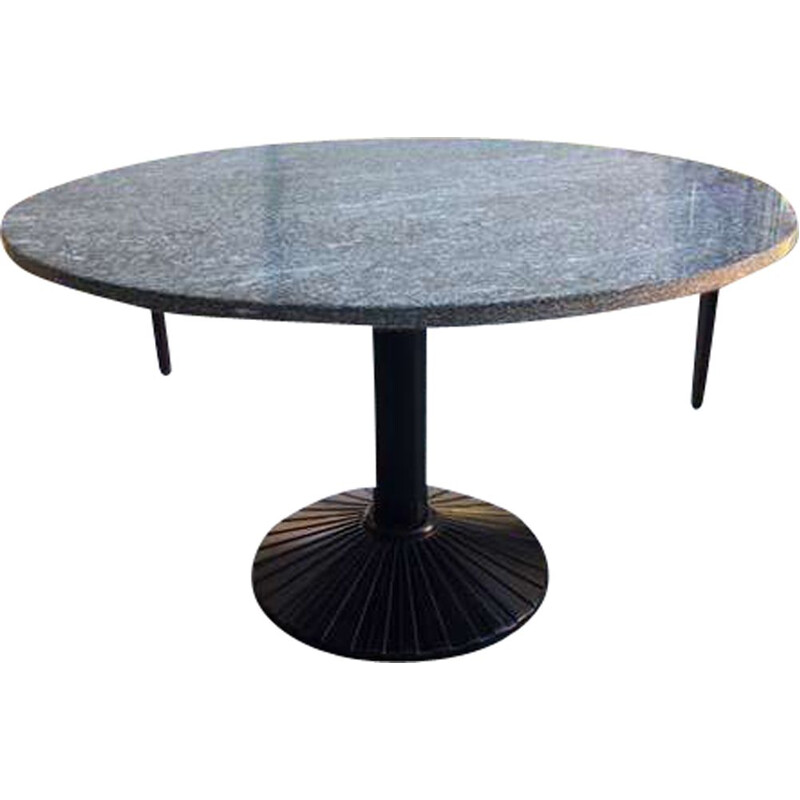 Vintage dining table Rotondo by Zanotta for Zanotta