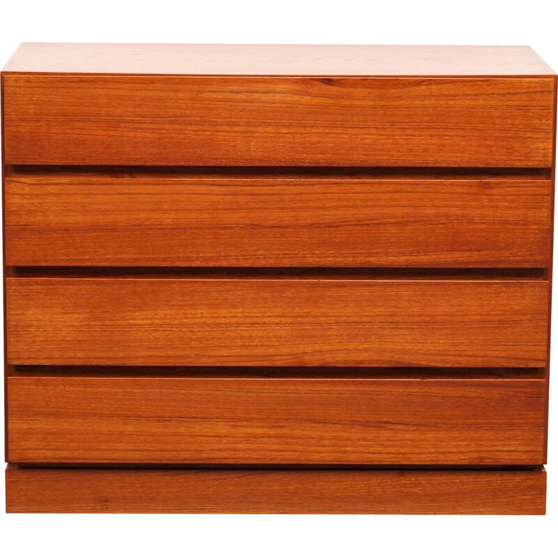 Vintage teak chest of drawers Arne Wahl Iversen for Vinde Møbelfabrik