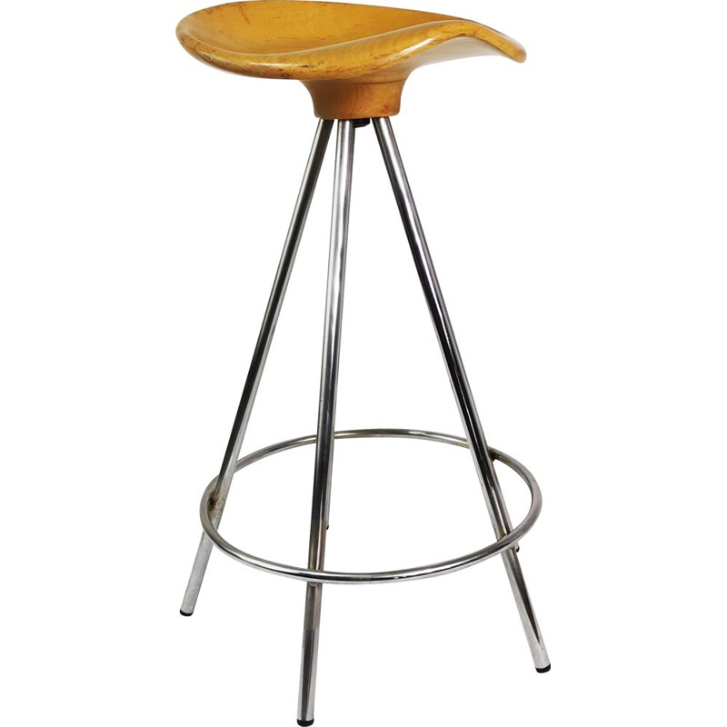 Vintage Bar stool by Pepe Cortes & Knoll, Spain 1990s