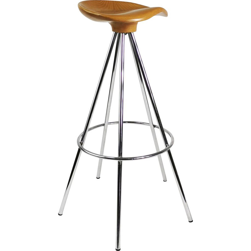 Vintage Bar stool 'Jamaica' by Pepe Cortes by Knoll Spain, 1990