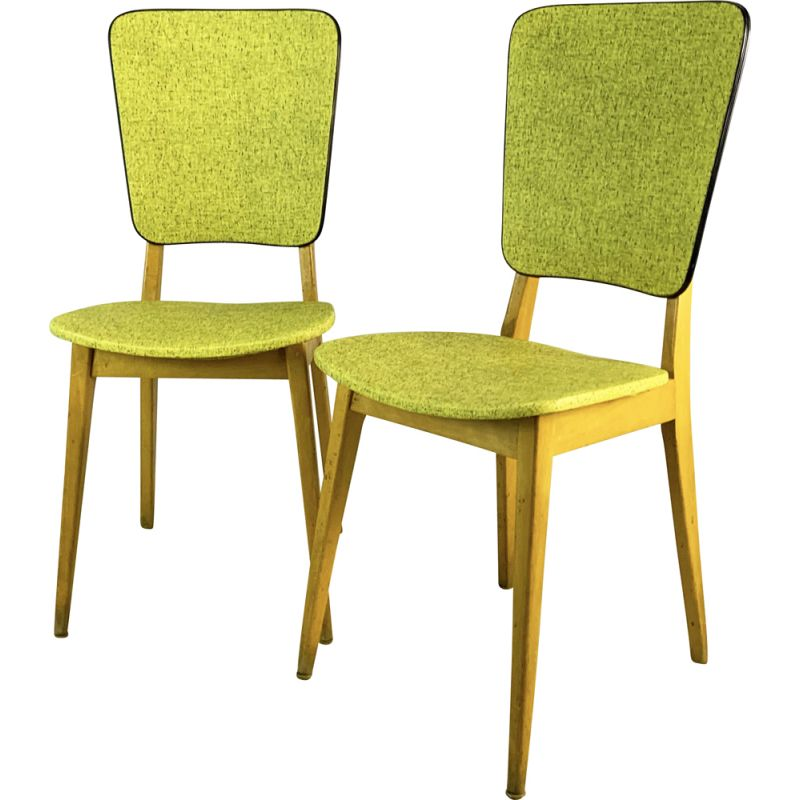 Pair of vintage Cafe Chairs, French 1960s