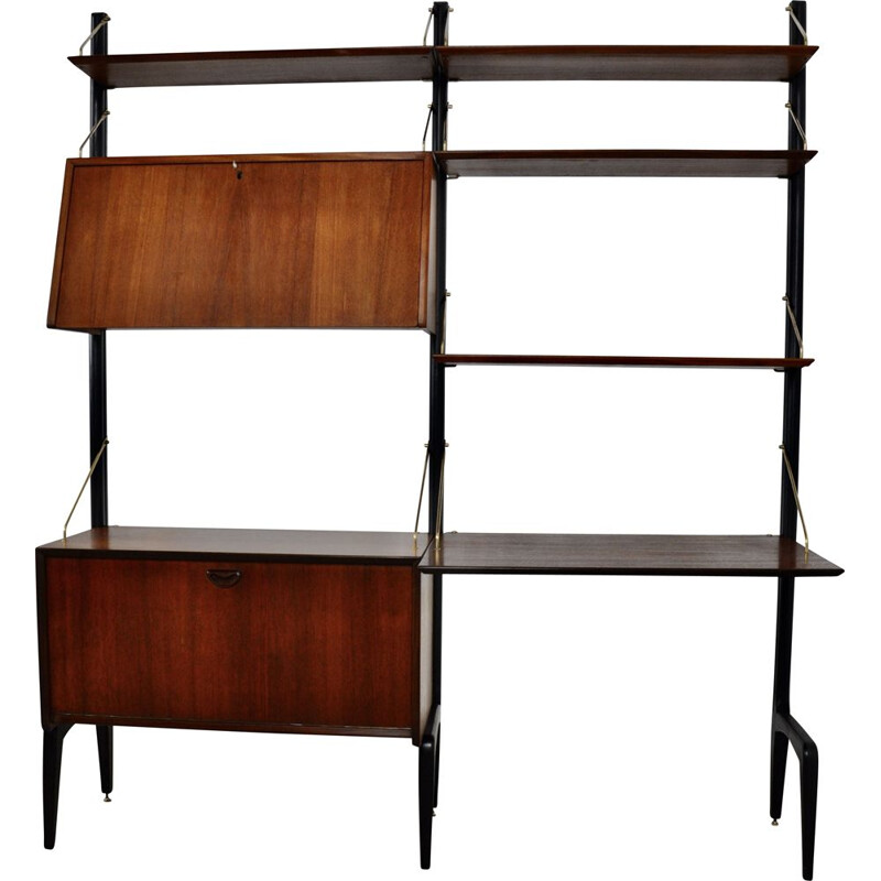 Vintage Wall Unit by Louis van Teeffelen for WéBé 1960s