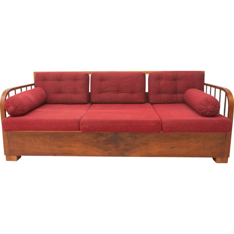 Vintage Cataloque Functionalist Sofa H-215 by Jindrich Halabala for UP Zavody, Czechoslovak 1930s