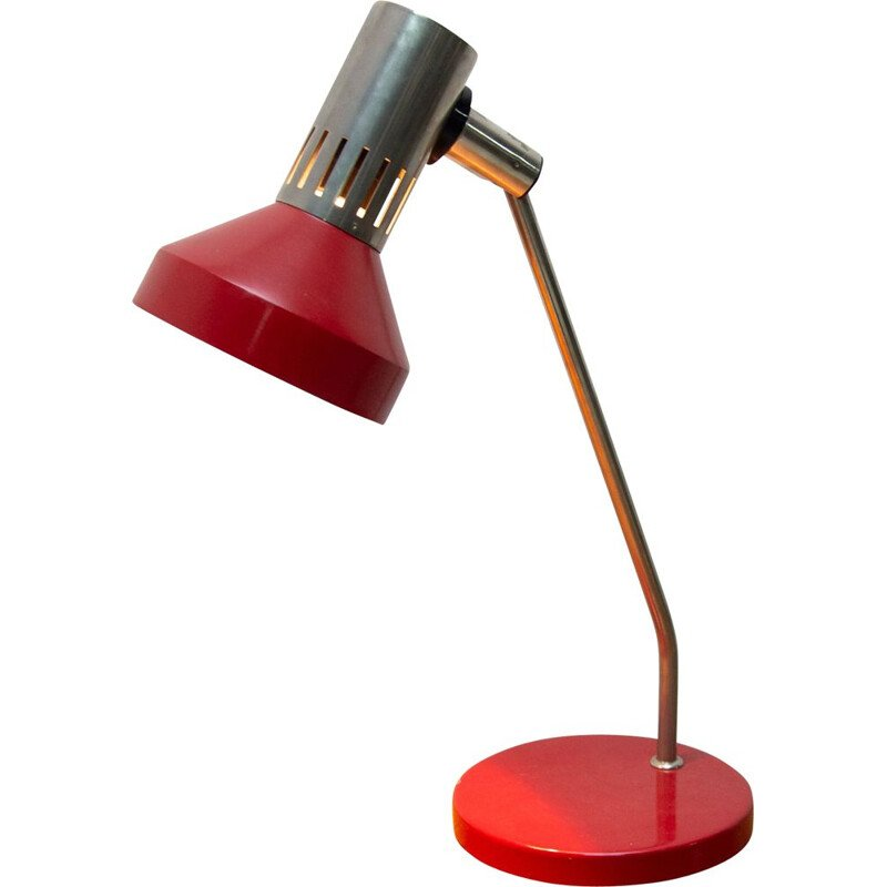Vintage desk lamp by Josef Hurka for Napako 1960