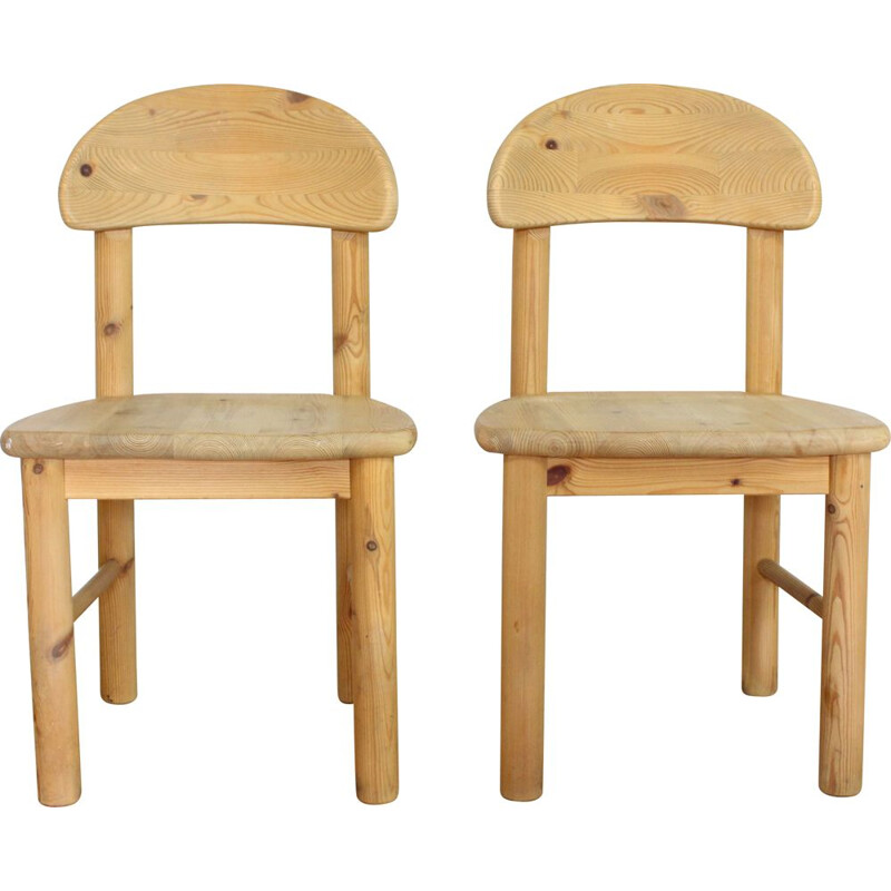 Pair of vintage chairs by Rainer Daumiller, Denmark