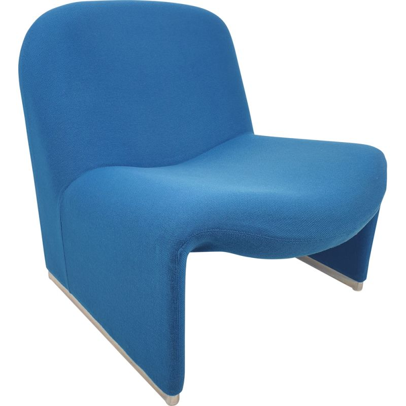 Vintage lounge armchair Alky by Giancarlo Piretti for Artifort 1970