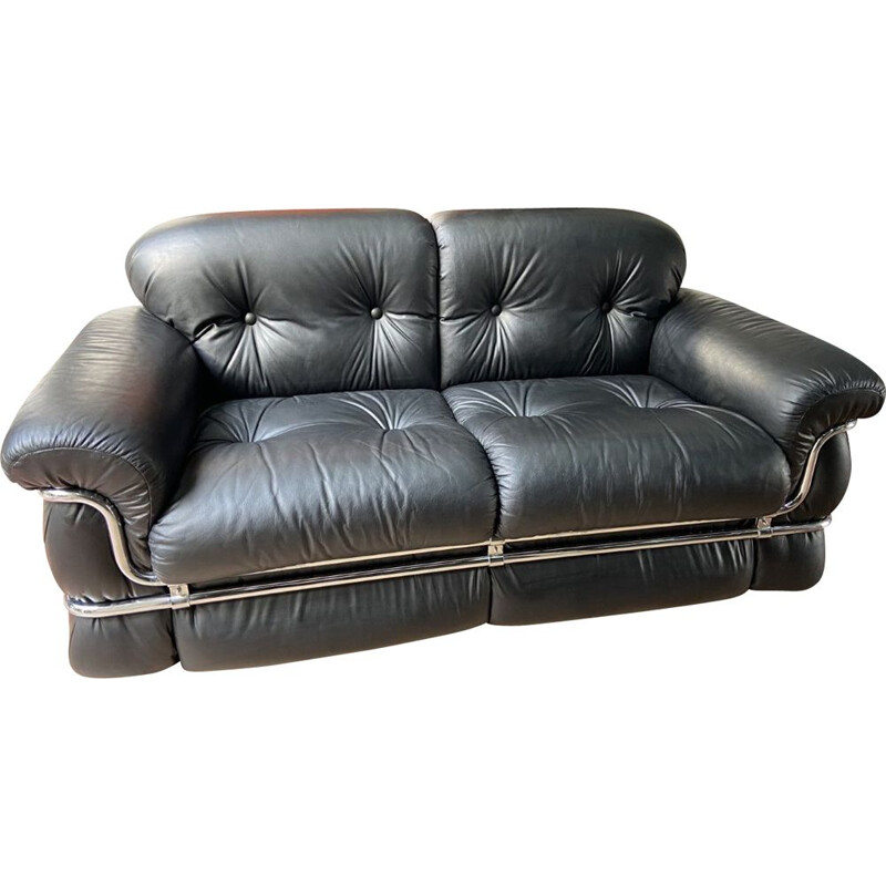 Vintage 2-seater sofa by Adriano piazzesi 1976s