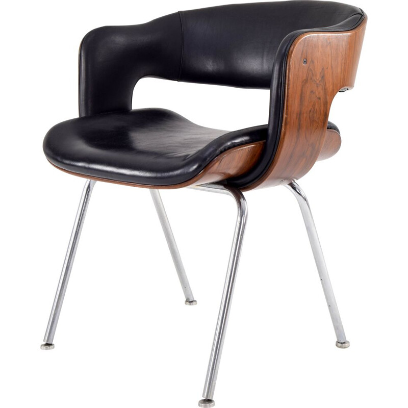 Vintage Modern Oxford Chair by Martin Grierson for Arflex, Spain 1963s