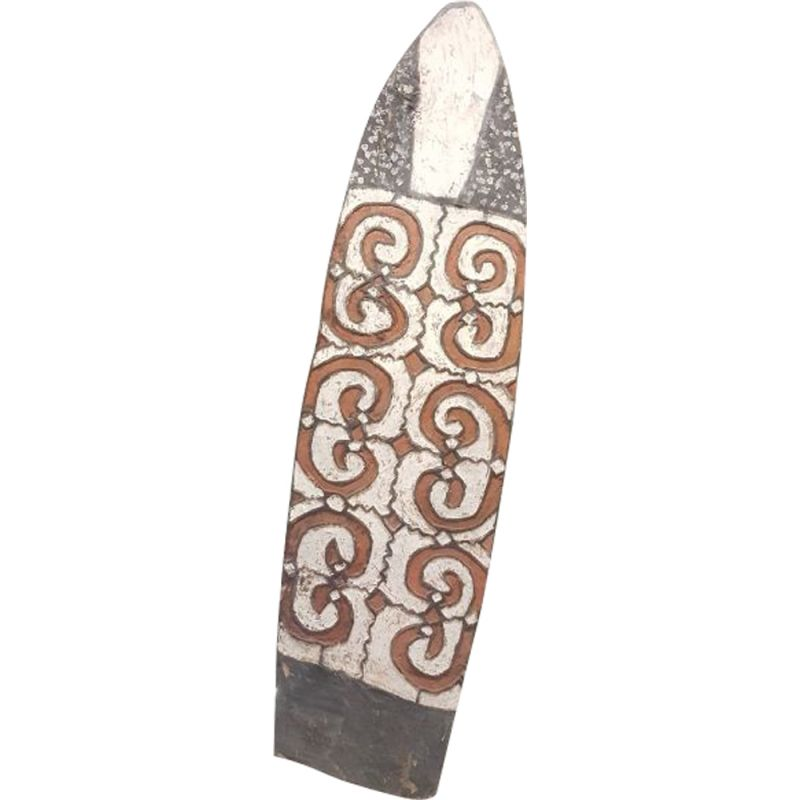 Vintage shield from Papua New Guinea 1950
