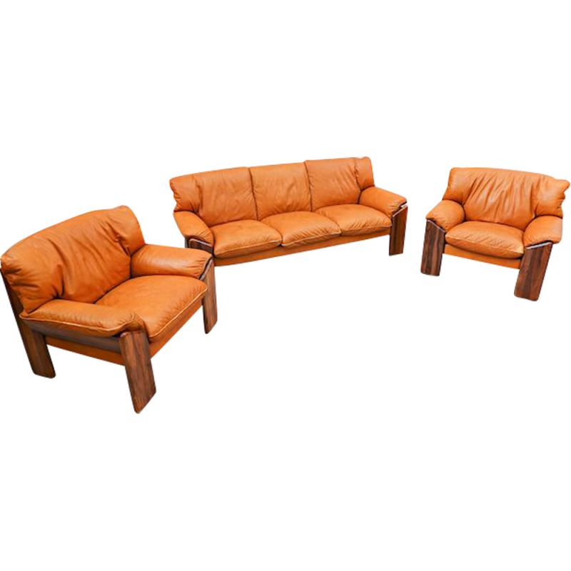 Vintage sofa from Sapporo for Mobil Girgi, Italy 1970