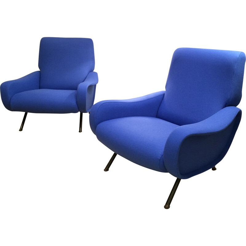 "Pair of armchairs ""Lady"", Marco ZANUSO - 1955s"