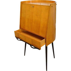 Mid-Century Italian secretary in lacquered wood - 1950s