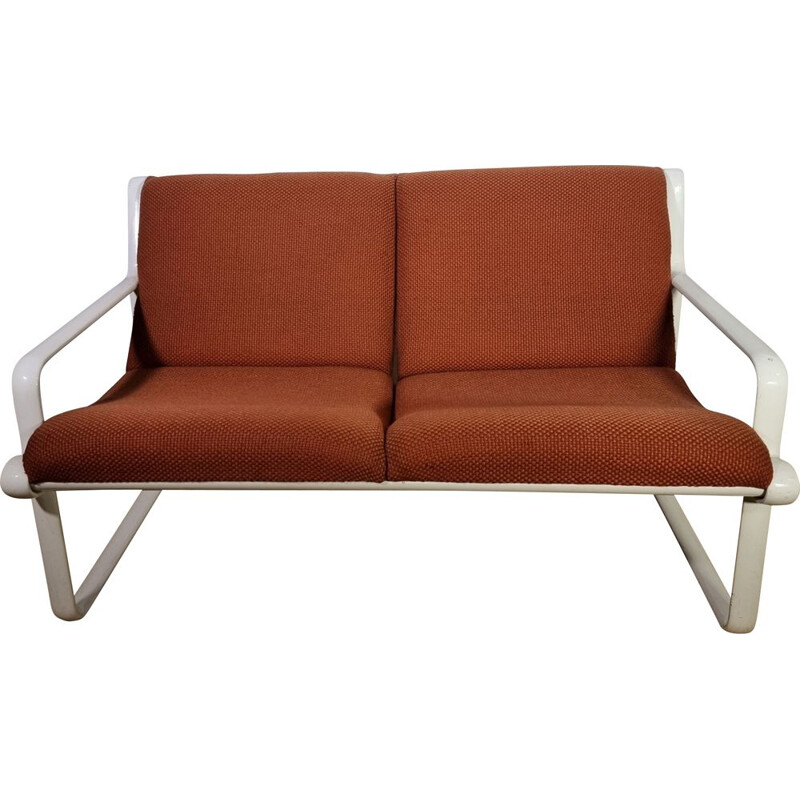 Vintage Sling Sofa by Bruce Hannah and Morrison for Knoll 1970s