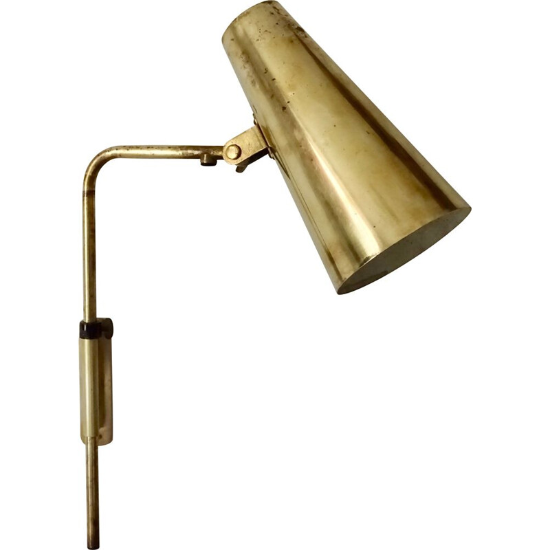 Vintage wall lamp model 9459 by Paavo Tynell for Taito Oy 1940s