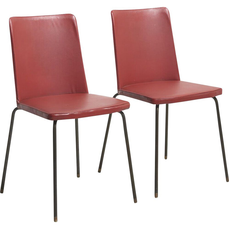 Pair of vintage Dinning chairs by Hein Salomonson for AP Originals, Netherlands 1950s