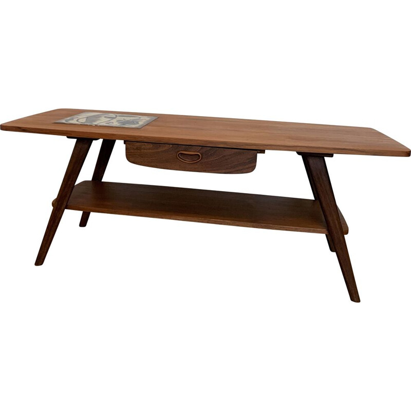 Vintage Teak coffee table 1960s