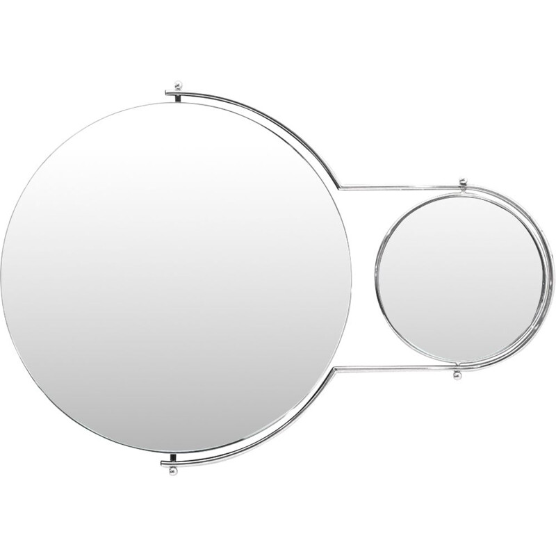 "Vintage ""Due Mirror"" mirror by Rodney Kinsman for Bieffeplast 1980s"