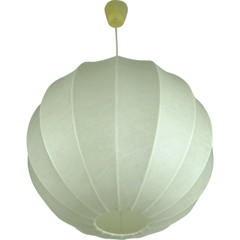 Vintage suspension modern cocoon ball astiglioni 1960s