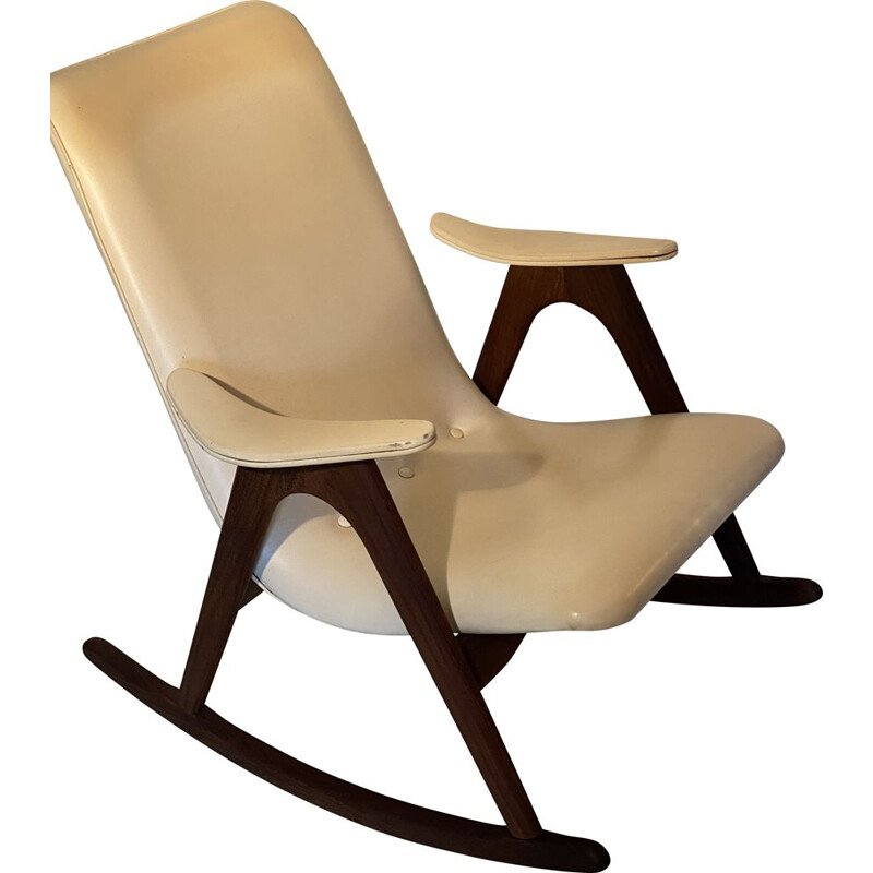 Vintage Teeffelen Rocking Chair by Louis van, Dutch