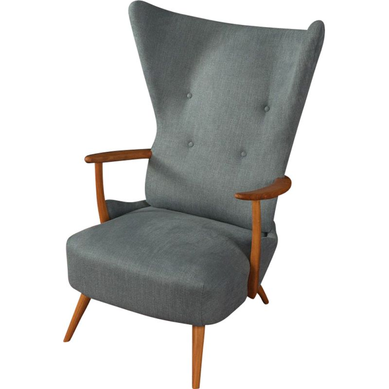 Vintage Wing Chair, Germany 1950s