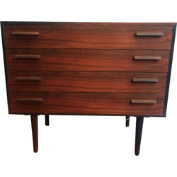 Chest of drawers in rosewood, Kai KRISTIANSEN - 1960s
