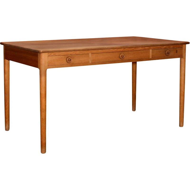 Vintage Writing Desk By Hans Wegner PP 305 For PP Møbler Denmark, 1970s