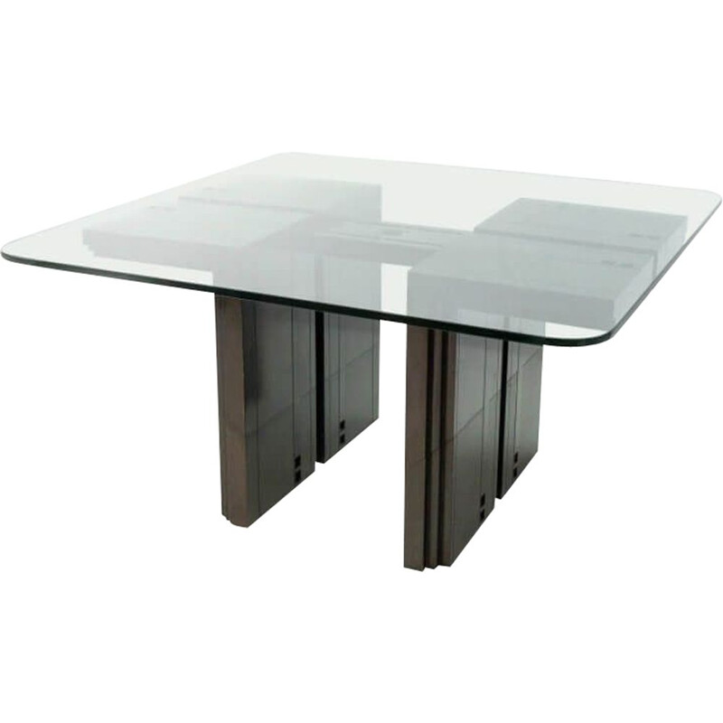 Vintage Dining Table By Umberto Asnago & Ambrogio Pozzi For Giorgetti, Italy1982