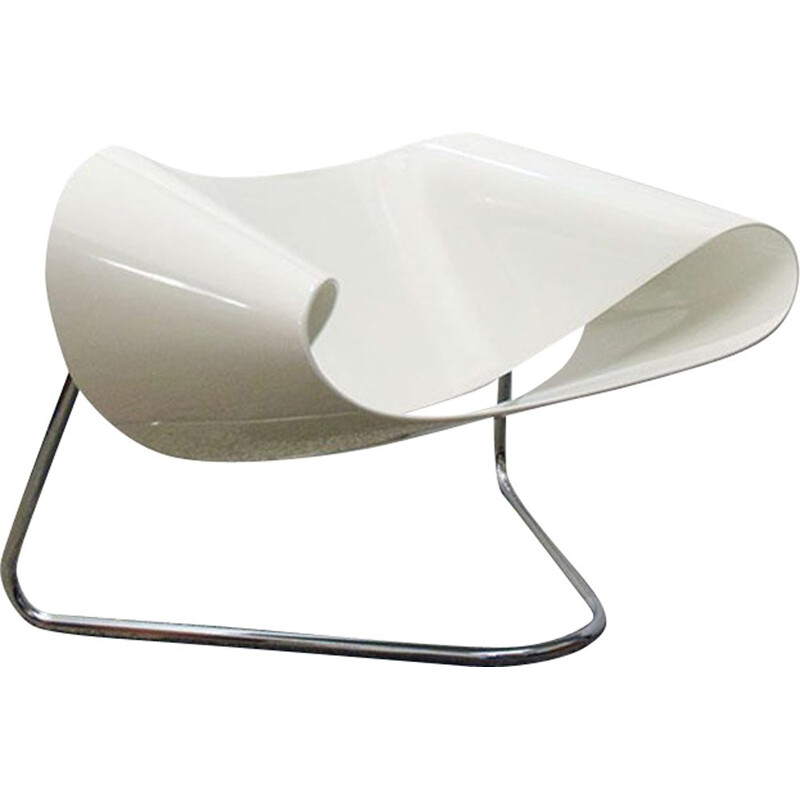 Vintage Ribbon chair Cesare Leonardi e Franca Stagi for Fiarm, 1960s