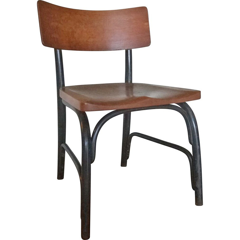 Vintage Husum chair by Frits Schlegel for Fritz Hansen, Denmark 1930