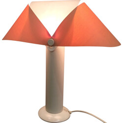 Courreges adjustable little lamp in white lacquered metal, André COURREGES - 1965