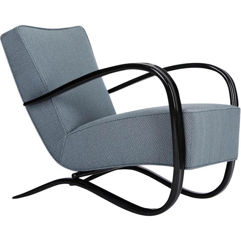 Vintage Streamline H 269 chair by Jindrich Halabala for Spojene Up Závody 1930