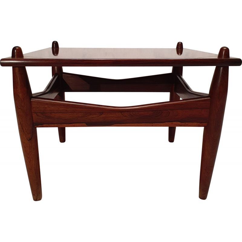 Vintage side table N 272 in rosewood from Illum Wikkelso, Scandinavian 1950s