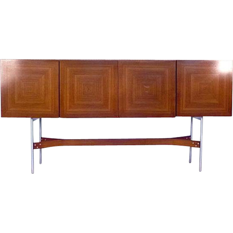 Dutch Fristho sideboard in maple and rosewood, Rudolf B. GLATZEL - 1960s