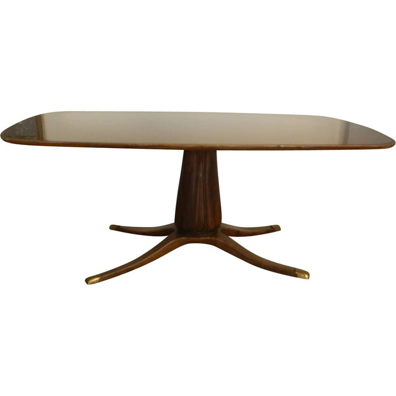 Vintage dining table Paolo Buffa Italian