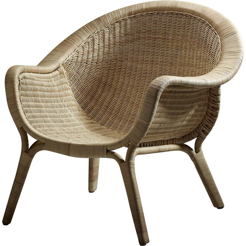 Vintage armchair by Nanna Ditzel 1950s