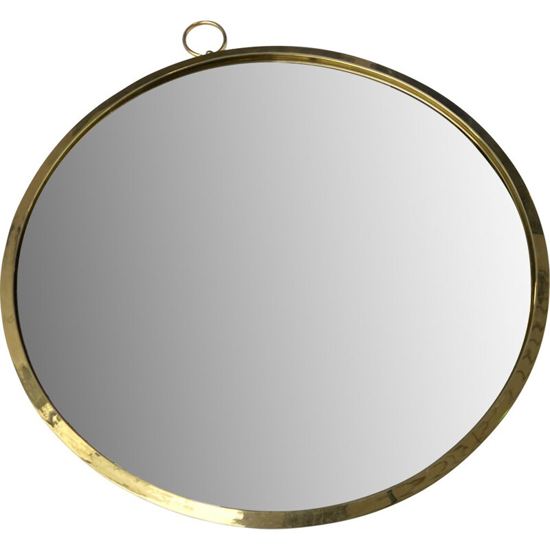 Vintage gusset mirror by Piero Fornasetti