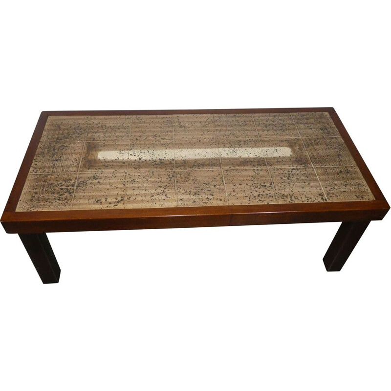 Vintage table by J. d'Asti 1960s