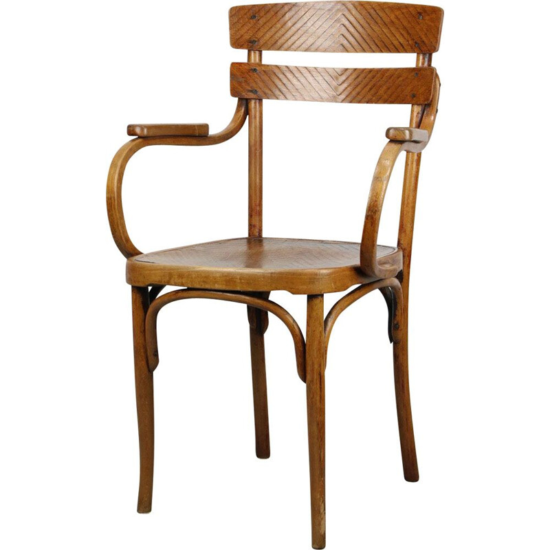 Vintage Bentwood Armchair by Michael Thonet