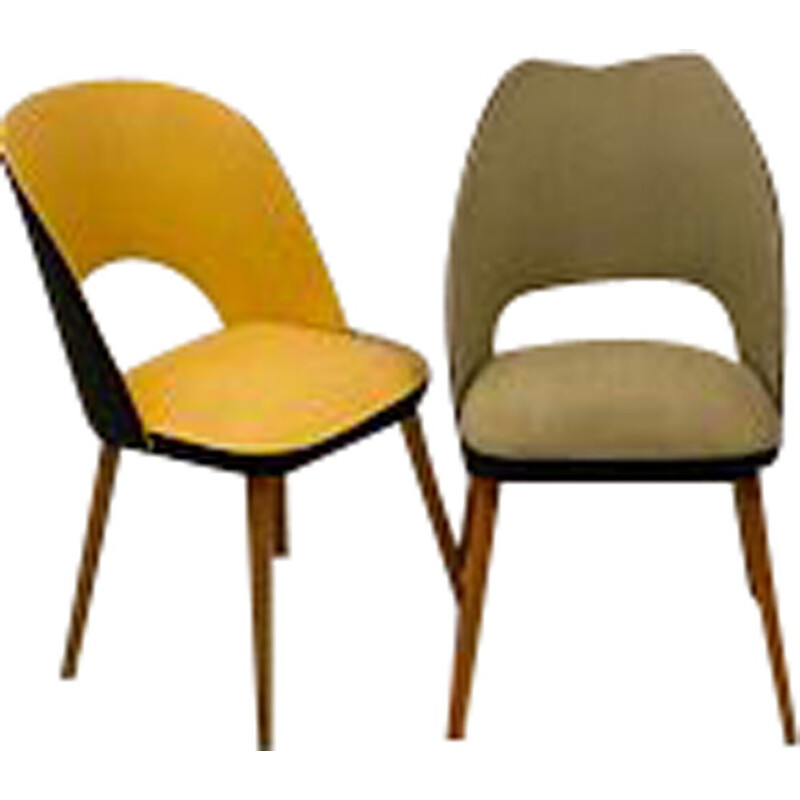 Pair of vintage Thonet Chairs 1950s