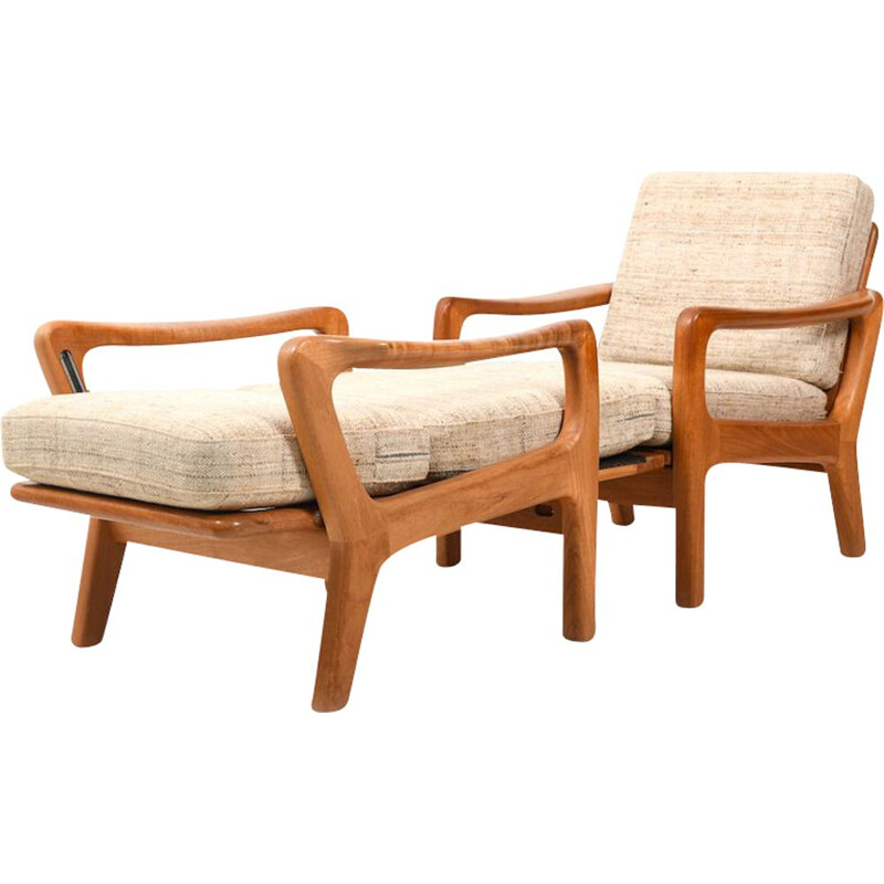 Vintage Easychairs Daybed by Jens-Juul Christensen for JK, Denmark 1970s