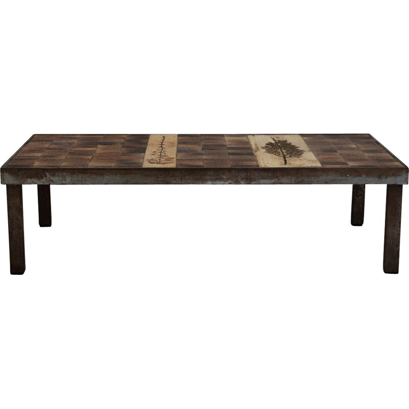 Vintage Coffee table by Roger Capron 1960s
