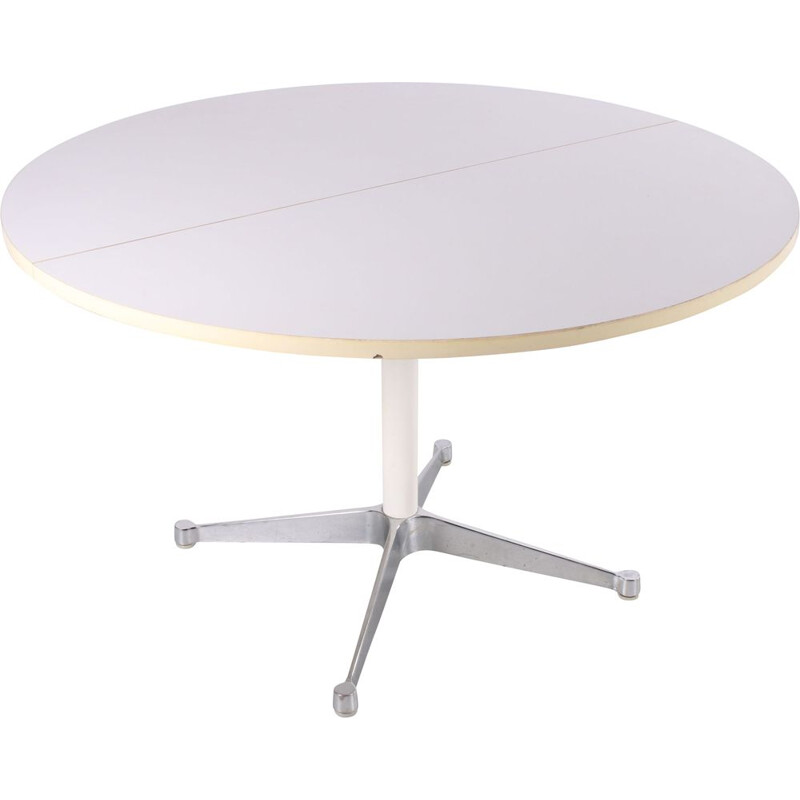 Vintage Round dining table by Herman Miller 1970s