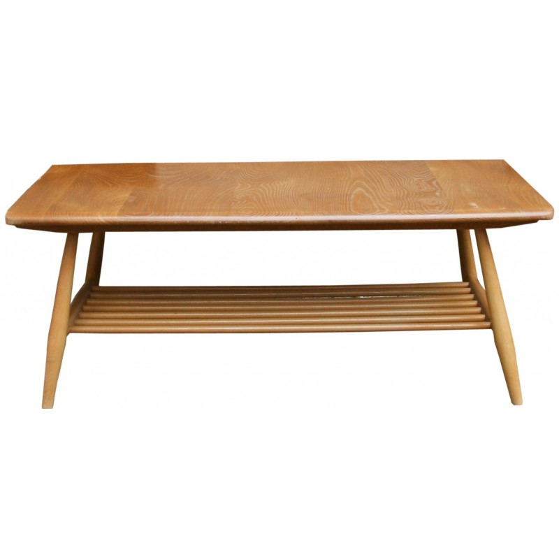 Ercol Windsor Coffee Table In Solid Beech And Elm Lucian R Ercolani