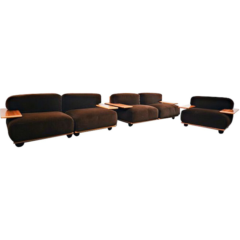 Vintage Pianura Sofa By Mario Bellini for Cassina 1970s