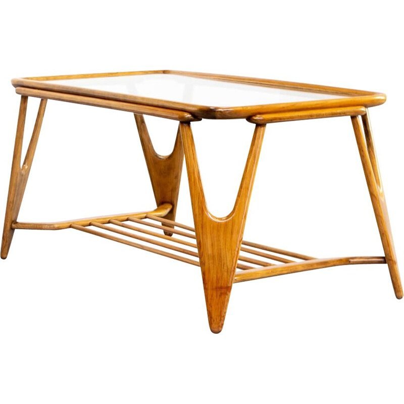 Vintage Cesare Lacca coffee table for Cassina 1950s