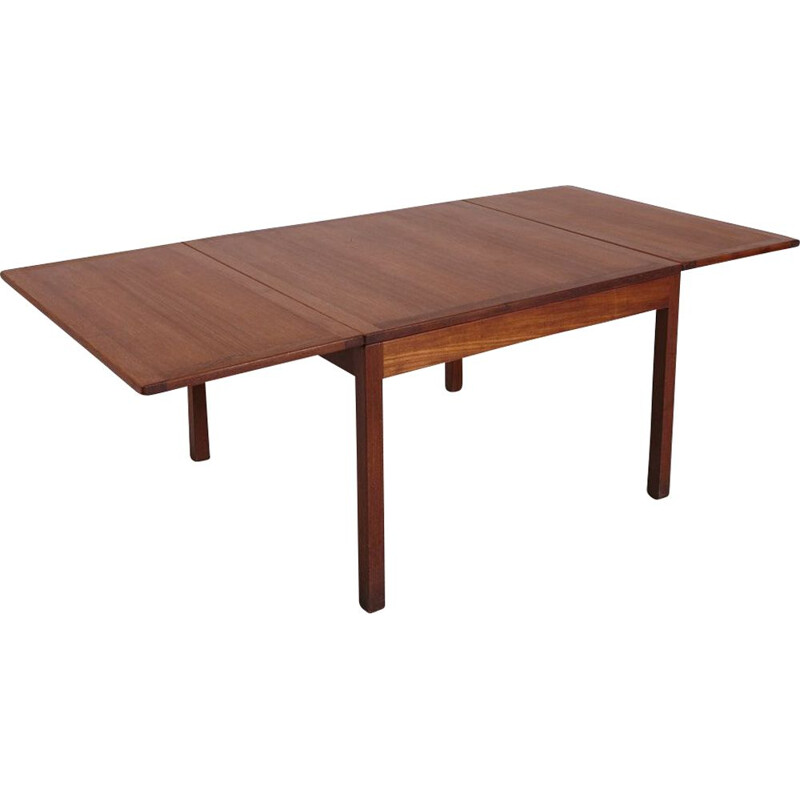 Vintage Model 5362 Teak Coffee Table by Borge Mogensen for Fredericia 1960s