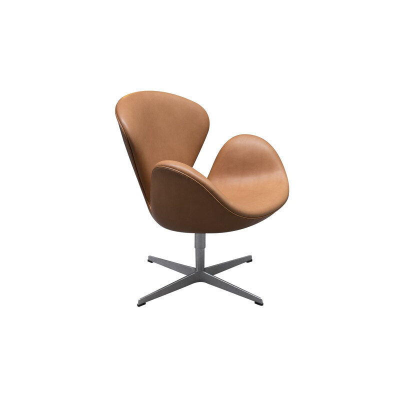 Fauteuil vintage Swan by Arne Jacobsen by Fritz Hansen 1967s