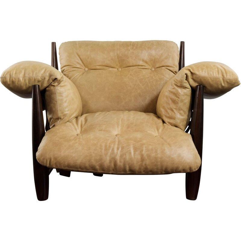 Vintage Mole armchair with ottoman by Sergio Rodrigues
