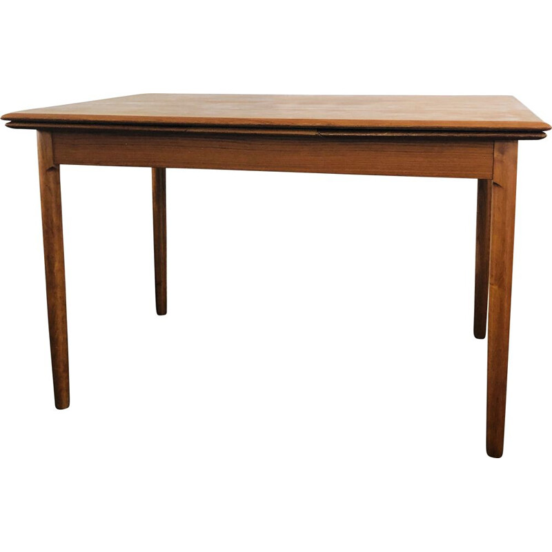 Vintage Extending Draw-Leaf Dining Table by Niels O. Moller for A.B.J. Mobelfabrik 1960s